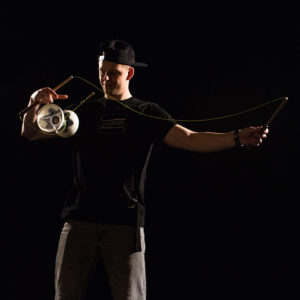 Tomáš Zahradník | Diabolo and chinese yoyo team member from the Czech republic
